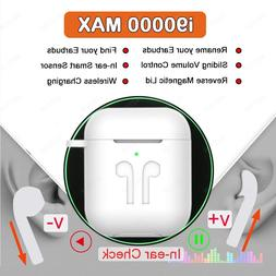 i90000 MAX TWS Wireless Earphone With Air 2 Rename <font><b>