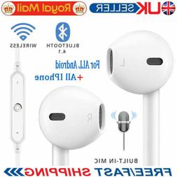 For iPhone X 8 7 Samsung Bluetooth Earphones Wireless Headse