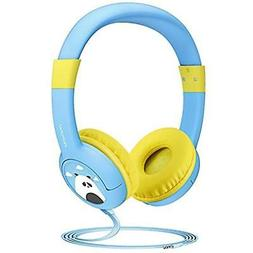 Kids Headphones, Wired On-Ear With Music Sharing Function, 8