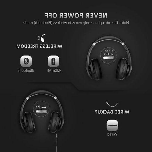 Mpow Headphone Wireless Hi-Fi Earphone