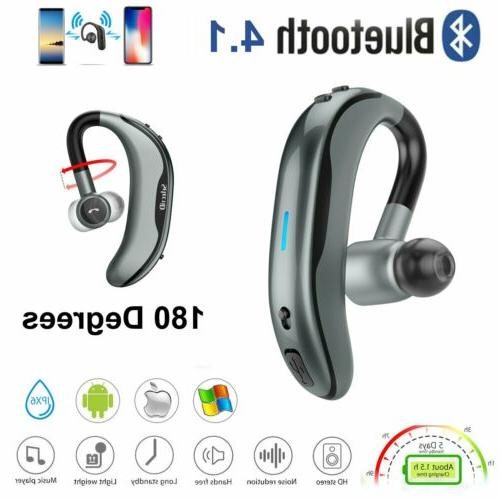 170hours standby wireless bluetooth hands free headset