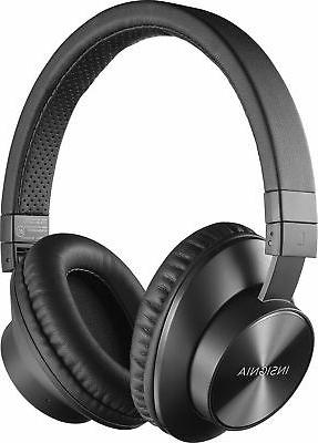 Insignia™ - NS-CAHBTOE01 Wireless Over-the-Ear Headphones