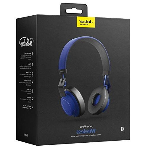 Jabra Move Wireless Headphones - Blue