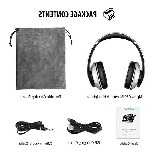 Mpow Wireless Memory-Protein w/Built-in Mic and Wired PC/Cell