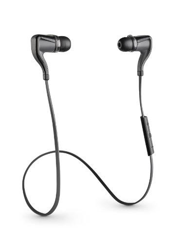 Plantronics Go 2 Wireless Hi-Fi Earbud Headphones with Charging Case Compatible other - Black