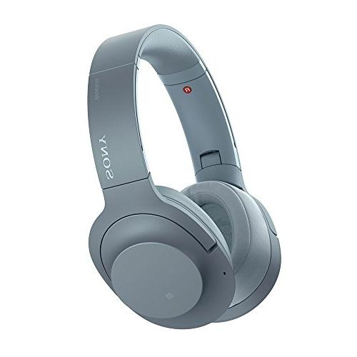 Sony - H900N Hi-Res Noise Cancelling Wireless Headphone Moon