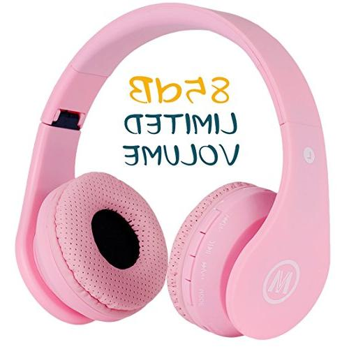 Volume Limited 85dB Protection Kids Headphone Bluetooth Wire