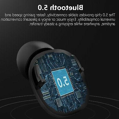 Waterproof Wireless Bluetooth Headsets Touch Earbuds