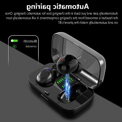 Waterproof Headsets Stereo Touch