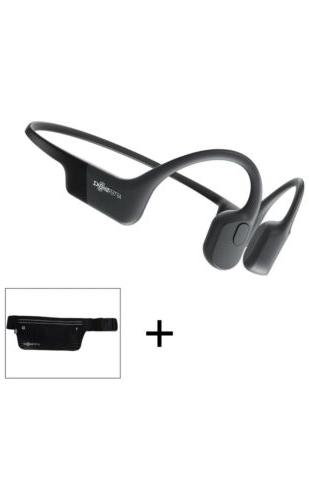 aeropex bone conduction wireless headphones black
