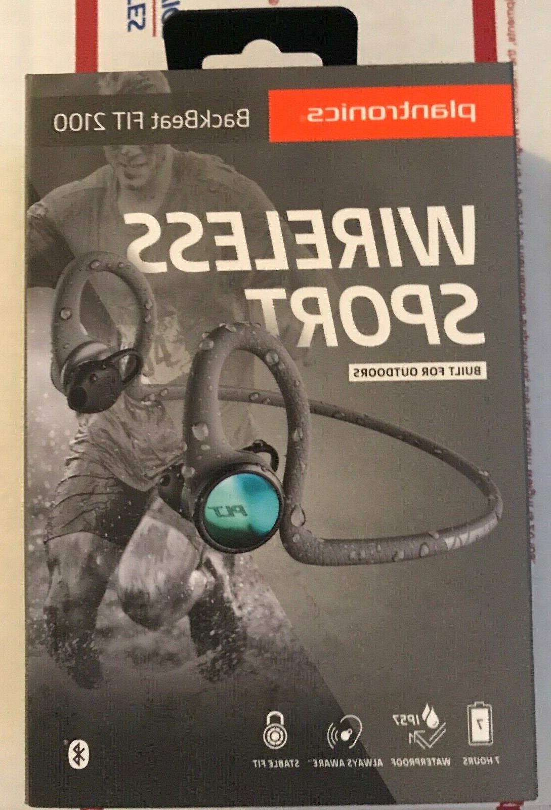 backbeat fit 2100 wireless headphones sweatproof new