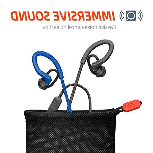 Plantronics FIT Wireless Headphones, Sweatproof in Headphones, Blue