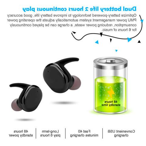 BEST QUALITY True Bluetooth Headset with Case