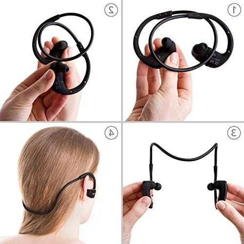 Phaiser for Wireless for Gym Workout, Stereo w\ Mic