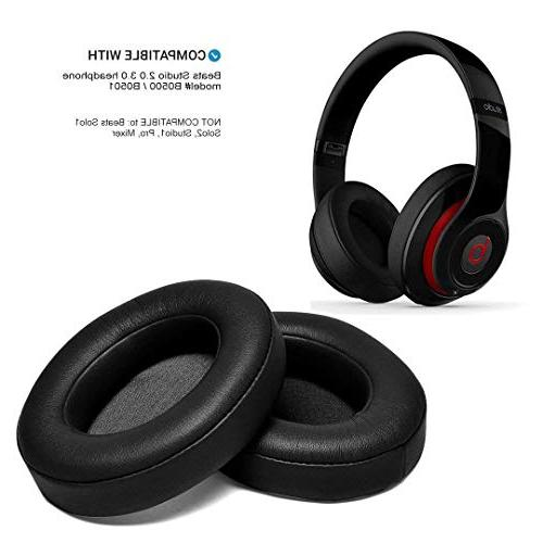 black replacement earpads