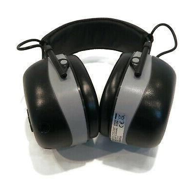 EarMuff Black, with Bluetooth & Rechargable Battery