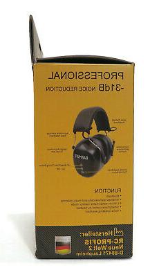 EarMuff Wireless with Bluetooth Rechargable Battery