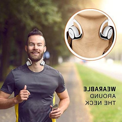 Bluetooth 4.2 Sports HiFi Stereo On-Ear Case,