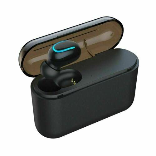 Bluetooth 5.0 Wireless Twins Earbuds 5D Stereo Headphones
