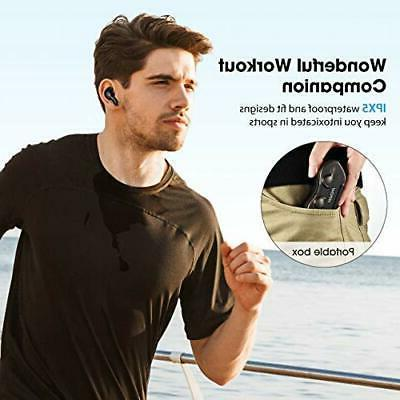 Mpow TWS Wireless Earbuds Headphones Charger