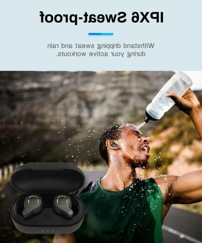 Bluetooth Earbuds, Moucit Bluetooth Easy-Pair Sports