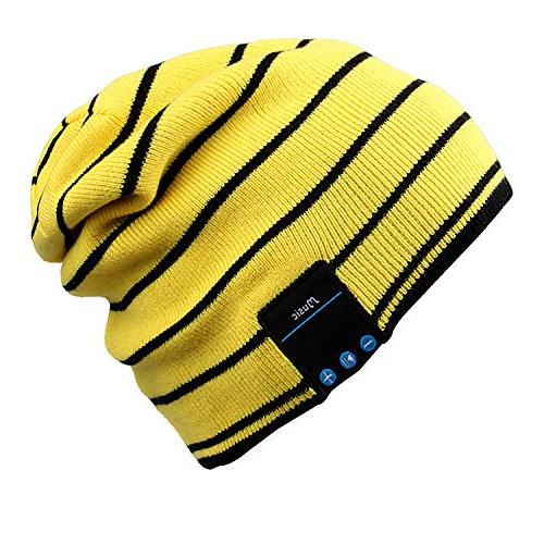 bluetooth beanie slouchy knit skully