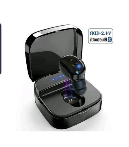 bluetooth earbud smallest v4 2 wireless headphone