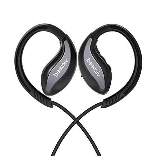 Bluetooth Headphones, Sports Earphones 4.1 in-Ear Earbuds Sweatproof Hrs Play Time Stereo Bass Noise Cancelling for Gym
