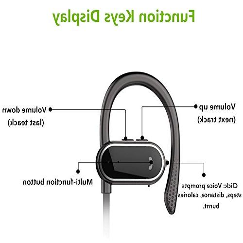 Z Sport Earphones Bass with Mic Running Cycling Hiking 8 Hours