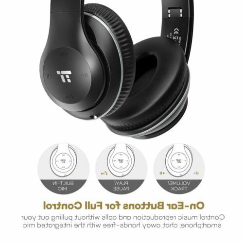 Bluetooth Headphones, Headset Headphones with Foam