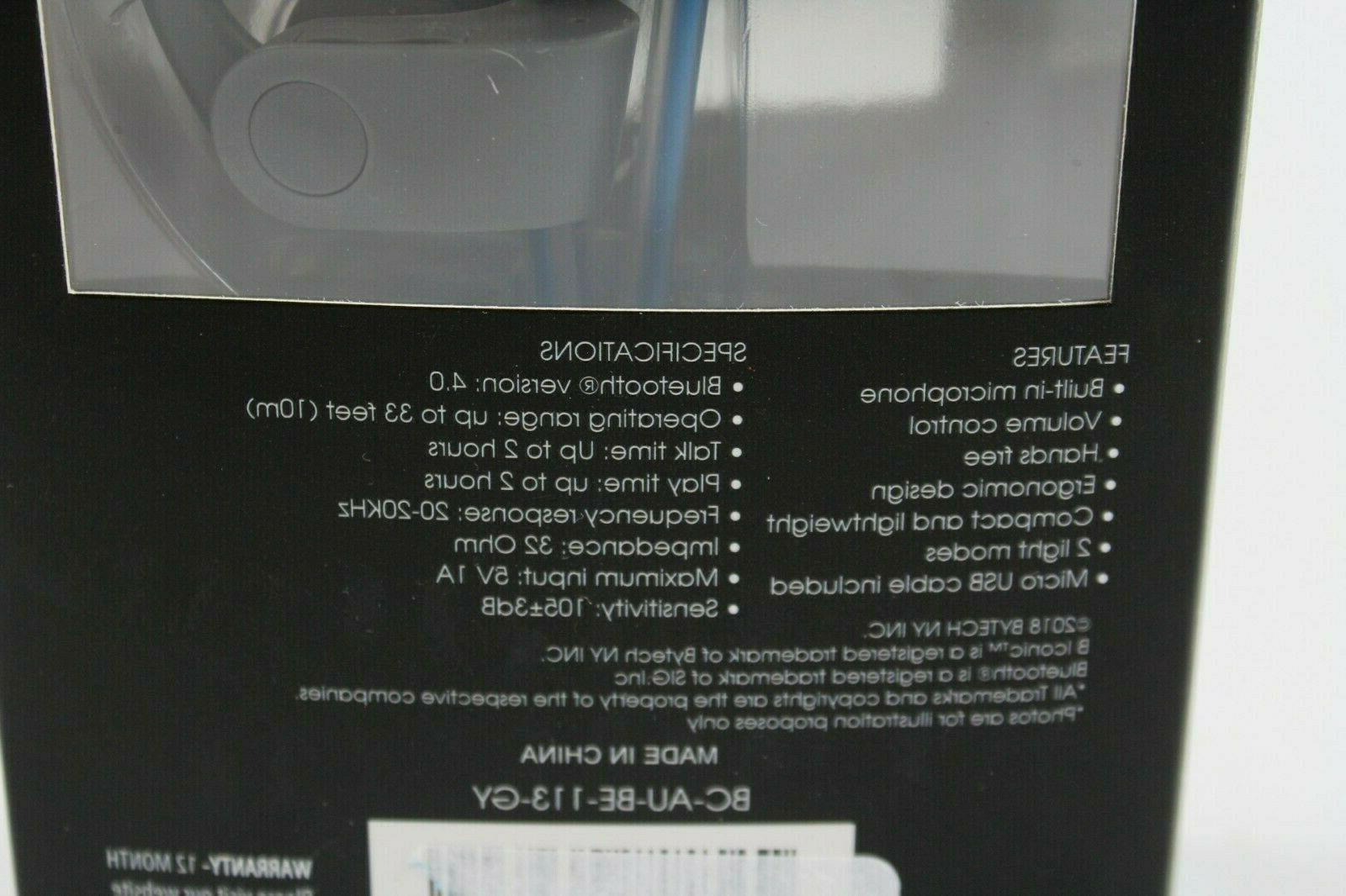 Biconic Bluetooth Light Up Wireless Stereo Sealed!