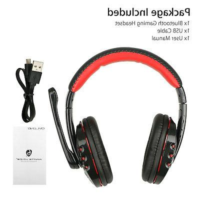Bluetooth Wireless Gaming Headset for With Control