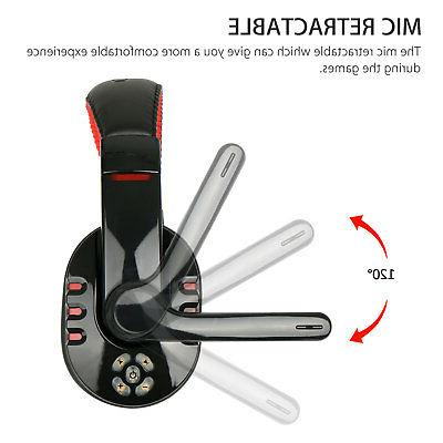 Bluetooth Wireless Headset for PC With Mic Control