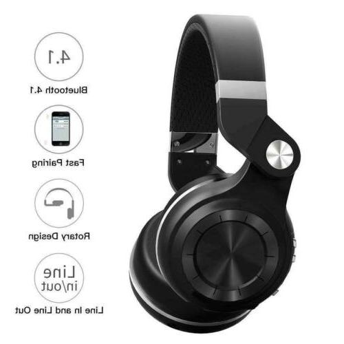 Bluetooth Headphones Ear Stereo Noise Cancelling Headset