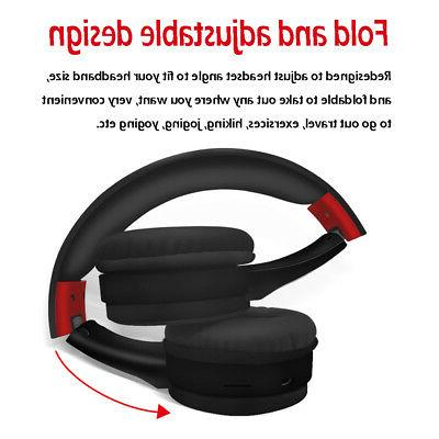 Wireless Headphones Bluetooth Noise With Microphone