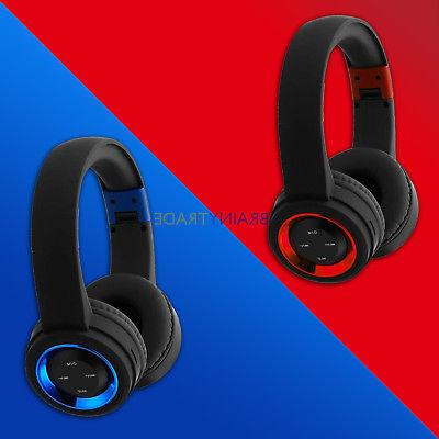 Bluetooth Wireless Headphones Ear Cancelling With Microphone