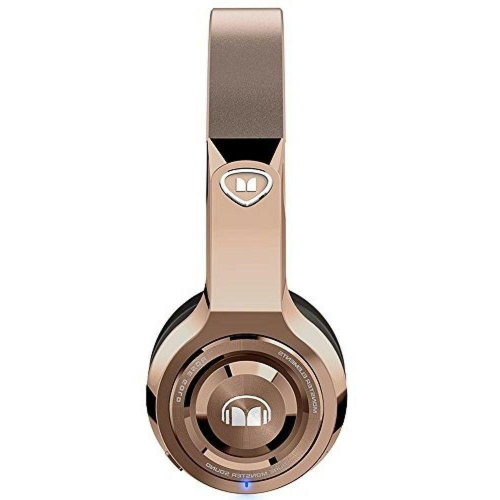 Monster Cable Wireless On-Ear Rose