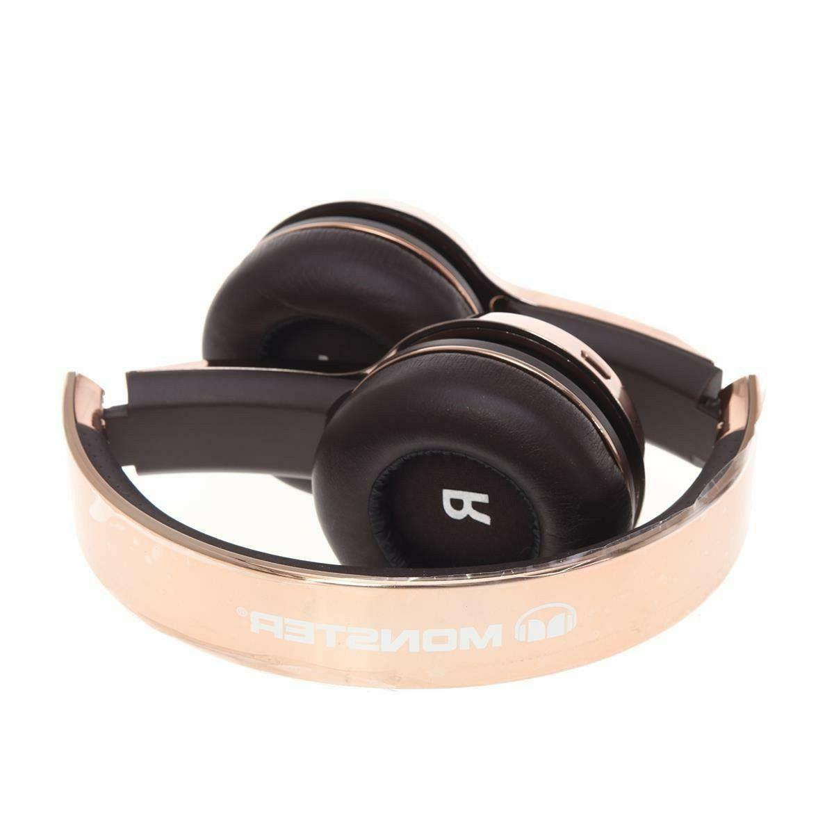 Monster Cable Wireless On-Ear Rose Gold