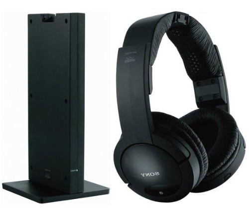 Sony 150 Long Range RF Noise Dynamic Mute Comfortable Wide Headband all L39B2180, LE32N1620, LE32N1620W, LE46A2280, L32F1120 Flat Television Radio Frequency Even Through Walls