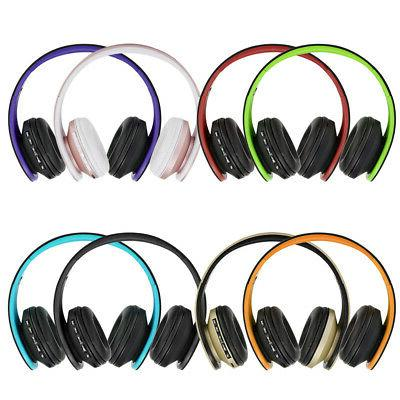 foldable bluetooth wireless headphones over ear headset
