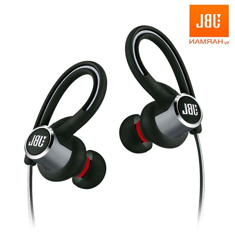 <font><b>JBL</b></font> <font><b>Wireless</b></font> 3-Button Remote with IPX5 Gym Bass Earphones