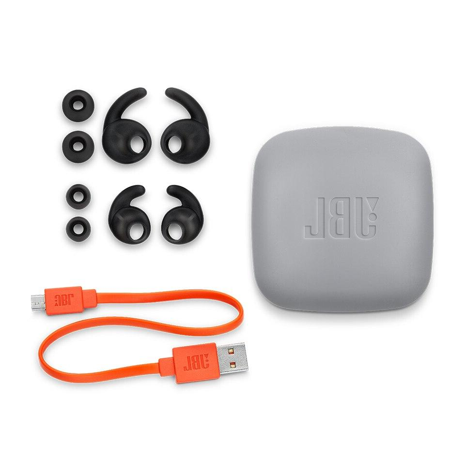 <font><b>JBL</b></font> <font><b>Wireless</b></font> Bluetooth Sport 3-Button Remote with IPX5 Sweatproof Bass Earphones