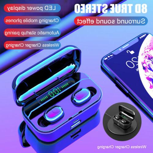 G6S TWS Bluetooth 5.0 Headset Stereo Wireless Earbuds Headph