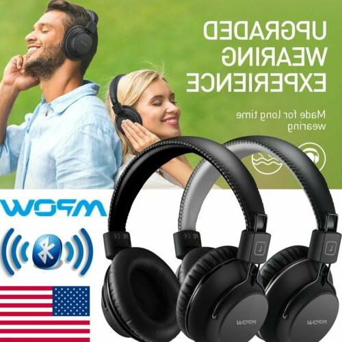 h1 foldable wireless stereo bluetooth headphone headset