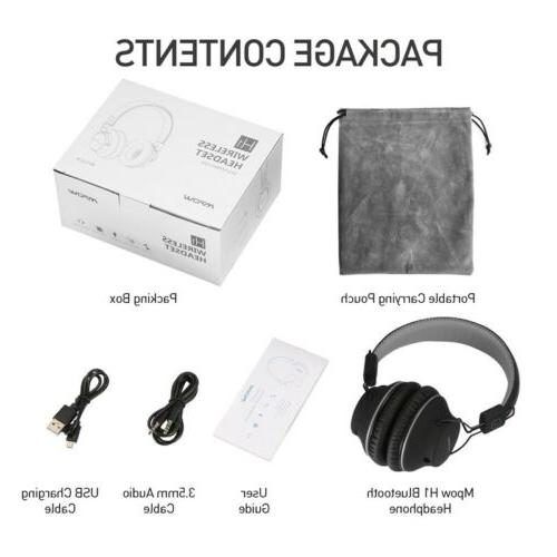 MPOW H1 Headphone Wireless/Wired Headset Foldable