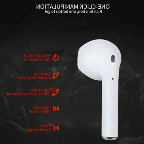 i12 TWS Earbuds Headphones Earphones For Android S
