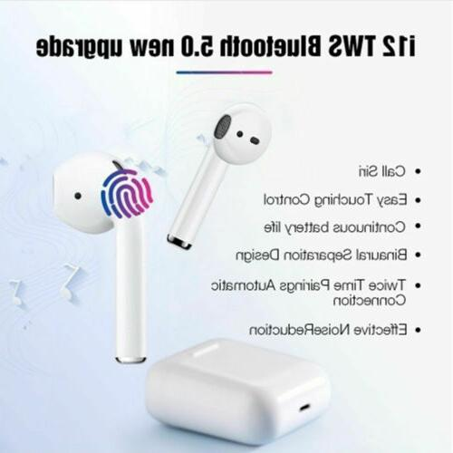 i12 TWS Earbuds For iphone Android