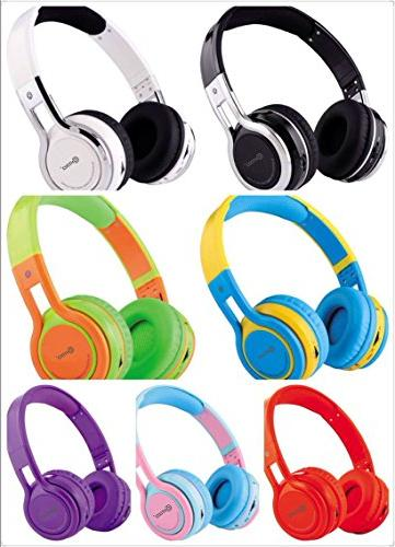 Contixo Kid 85DB the Foldable with Micro Phone, Micro card Music Stereo Audio & Output,
