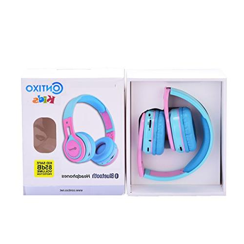 Contixo KB-2600 85DB the Ear Foldable Wireless Bluetooth with Micro card Music Player, FM Stereo Radio, Audio &
