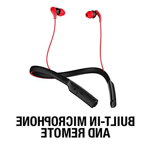 Skullcandy Method Sweat-Resistant Sport Microphone, Collar, 9-Hour for Out,